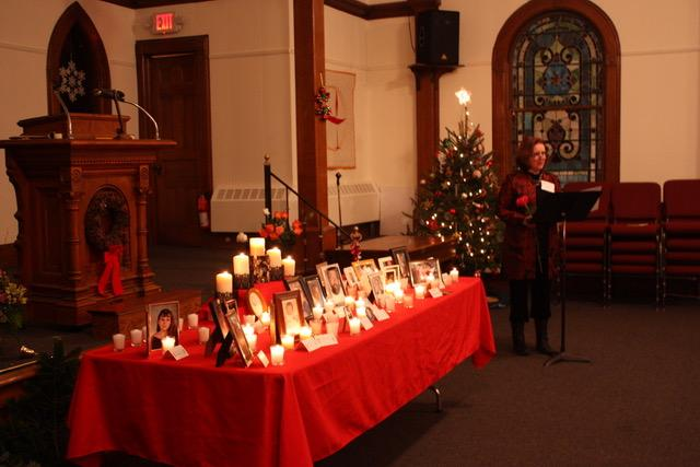 World Wide Candle Lighting 2019- Unitarian Universalist Church