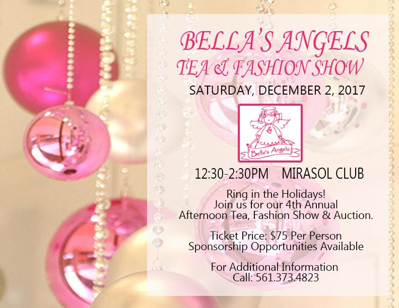 Bella\'s Angels 4th Annual Afternoon Tea, Fashion Show & Auction