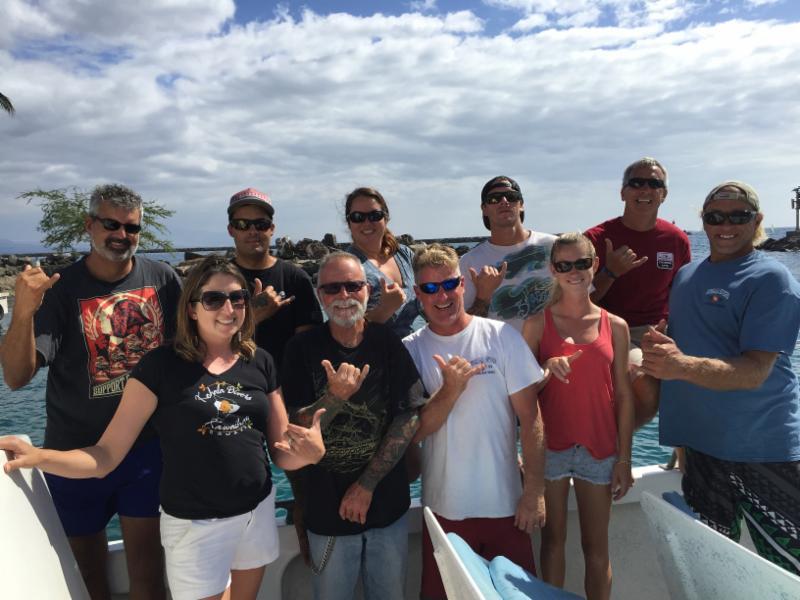 Kohala Divers Crew