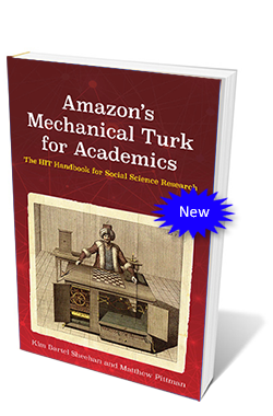 Amazon's Mechanical Turk for Academics