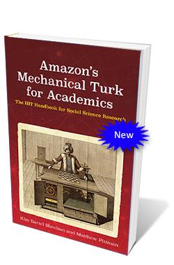 Amazon's Mechanical Turk for Academics