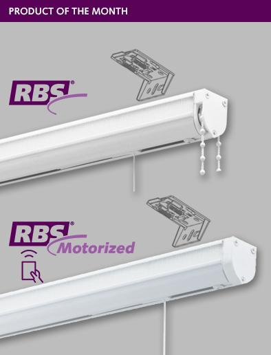 RBS and RBS MOTORIZED WITH HIDDEN BRACKET