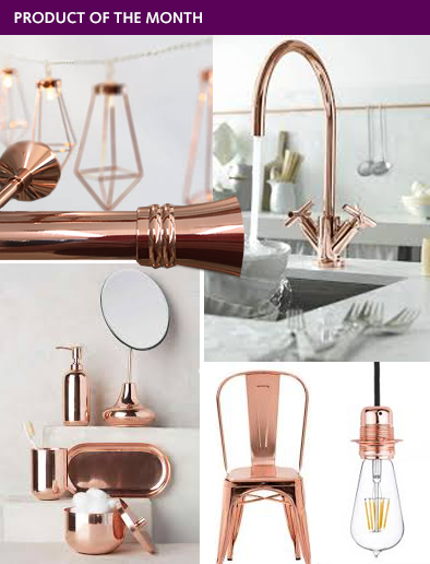 PRODUCT OF THE MONTH - Rose Gold Finish