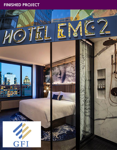FINISHED PROJECT - Hotel EMC2