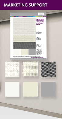 Stock Roller Shade Fabric Card