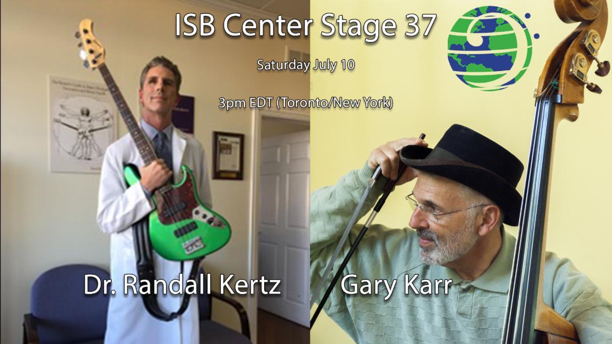 Gary Karr and Dr. Randall Kertz