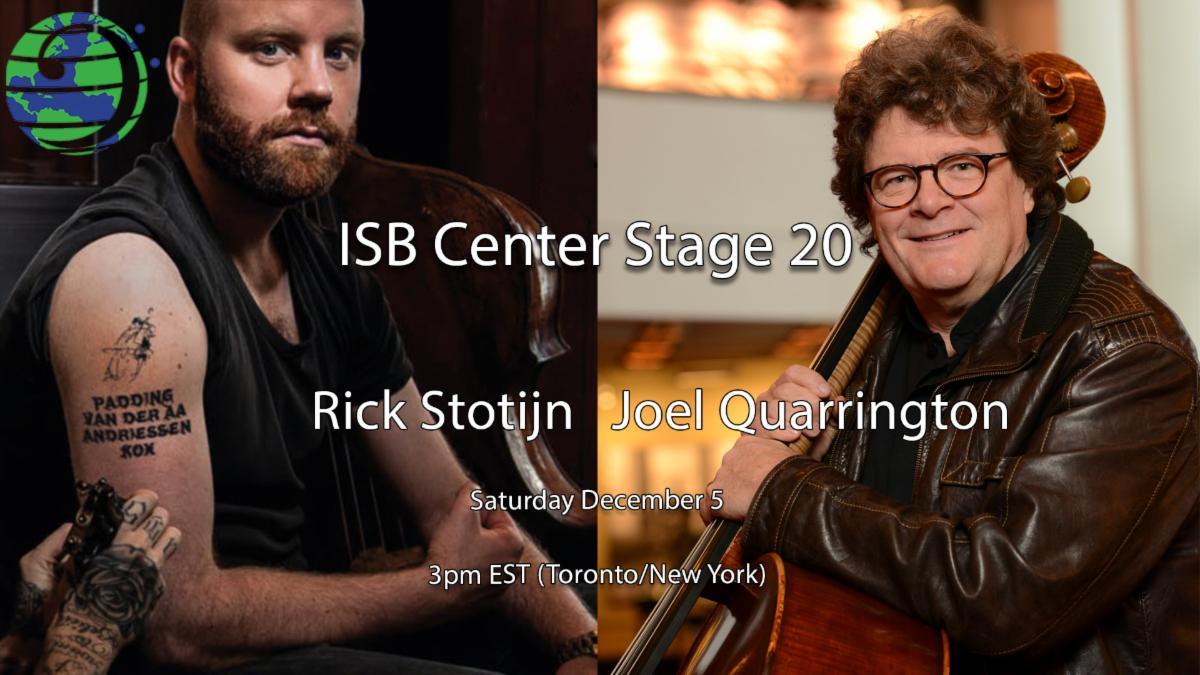 Rick Stotijn and Joel Quarrington