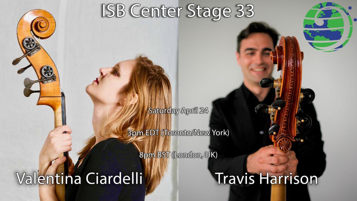 Valentina Ciardelli and Travis Harrison