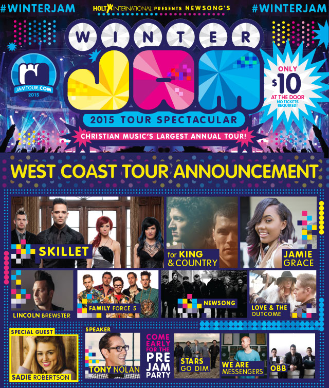 Winter Jam Tour Spectacular! @ Save Mart Center | Fresno | California | United States