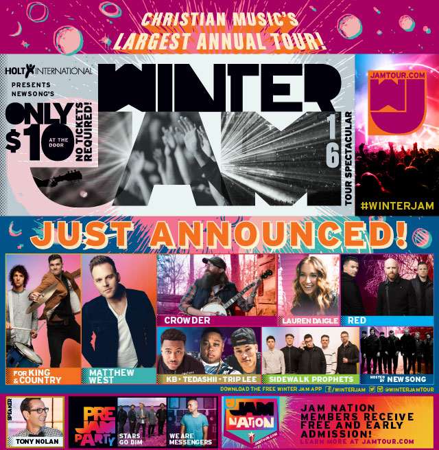 2016 Winter Jam Tour Spectacular