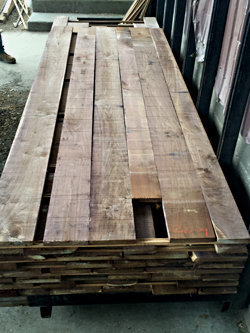 Walnut Lumber Varied and Wide Widths