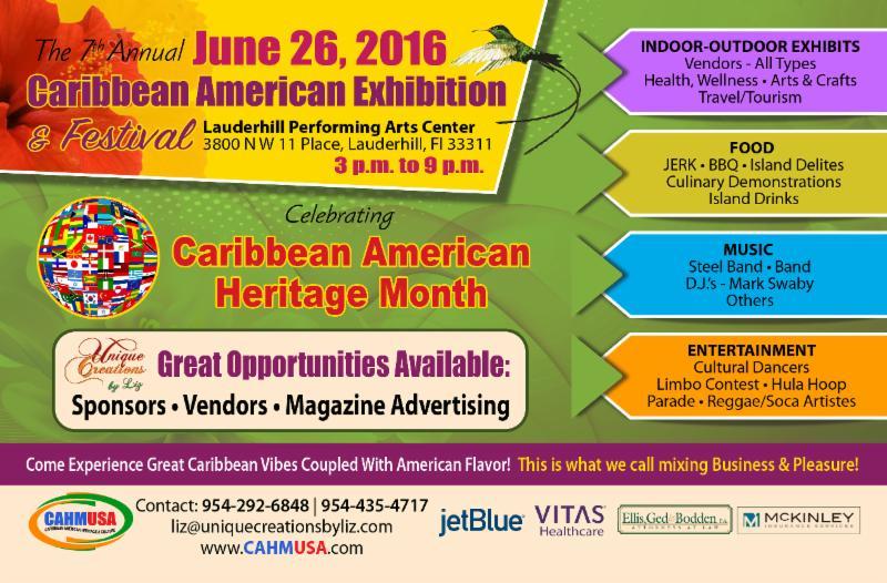 Caribbean American Exhibition & Festival 2016