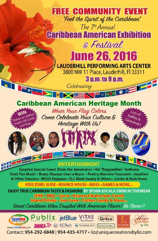 Caribbean American Exhibition & Festival June 26, 2016