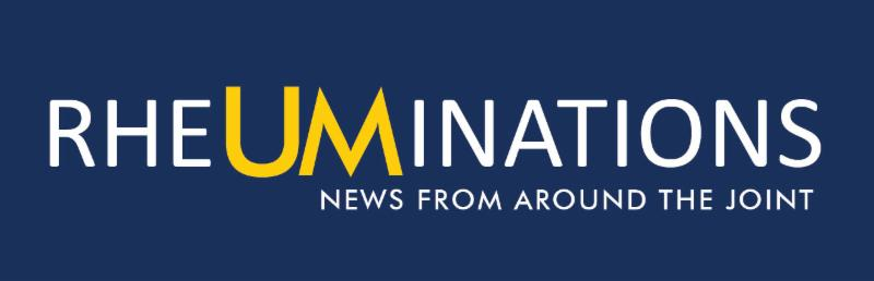 U-M Rheumatology Newsletter, Fall 2018
