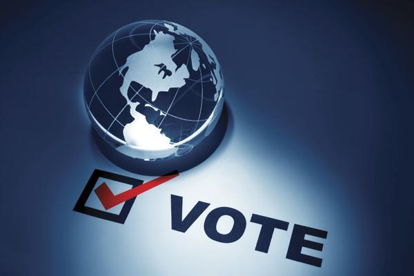 Vote graphic