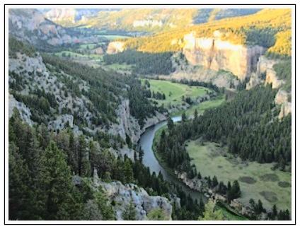 Smith River Canyon Birdseye