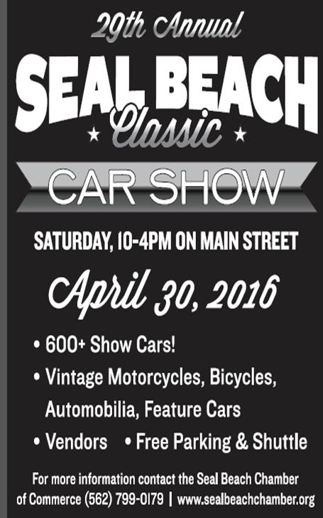 Seal Beach Th Annual Classic Car Show VENDOR Registration - Seal beach car show