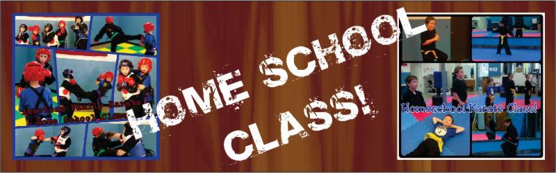 Home School Karate Class