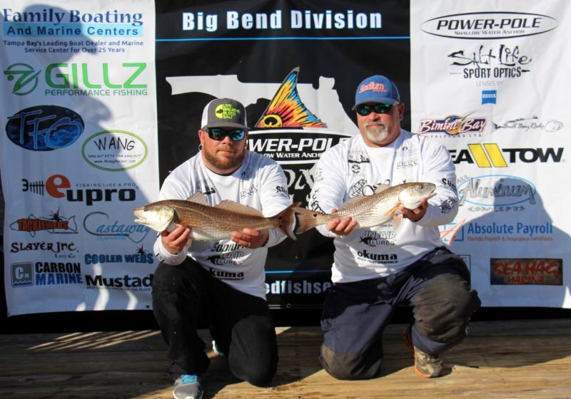 Redfish after redfish for Sodium fishing gear