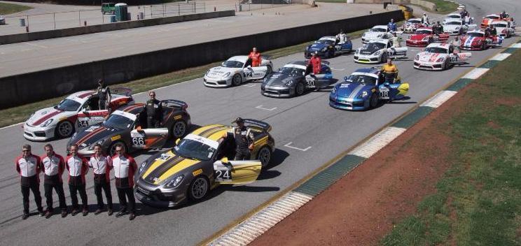 PCA Club Racing Porsche GT Clubsport Trophy East Series - Porsche club racing