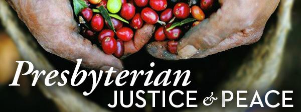 Presbyterian Justice & Peace banner