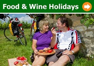 Food and Wine Cycling Holidays