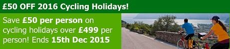 2016 New Cycling Holidays