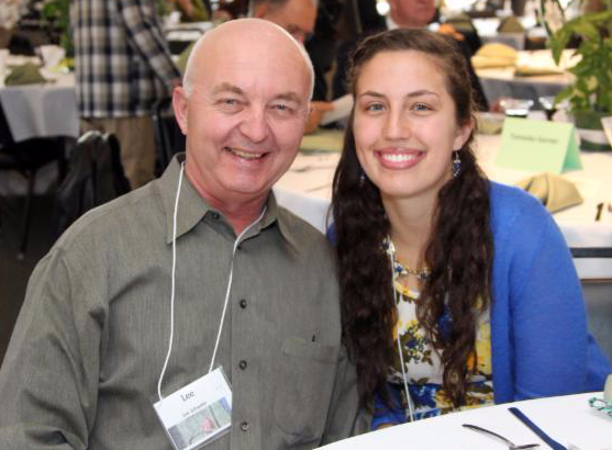 Portage Park District Employee Lee Schaefer and daughter Hanna