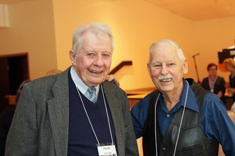 Harold Walker & Ted Voneida