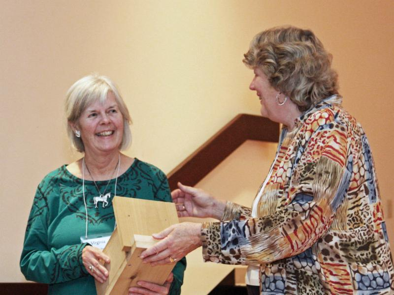 2015 Honor Roll for Land Conservation Awardee-Virginia Shaw with Jane Rose