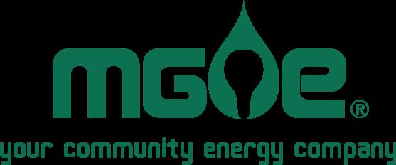 MG&E logo