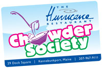 Chowder Society Card