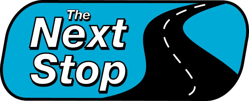 The Next Stop logo