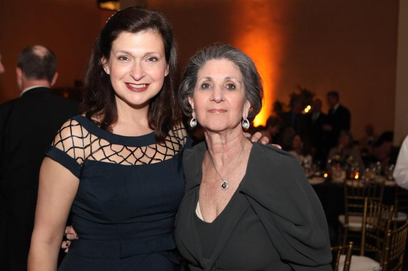 BSC CEO & President Sallie Matthews and BSC Founder Barbara Berci