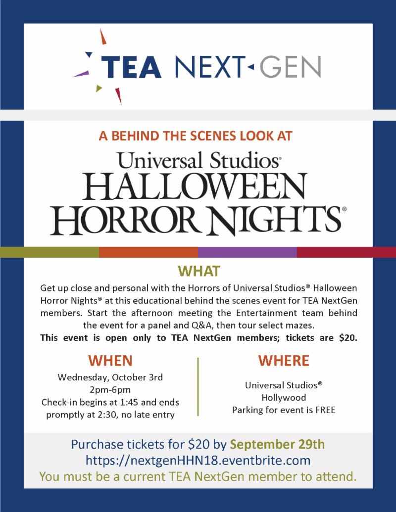 tea - themed entertainment association