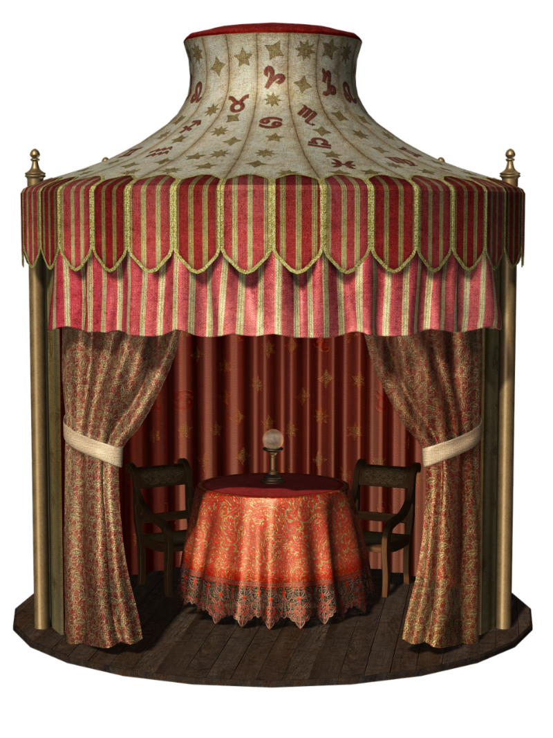 Psychic Reading tent