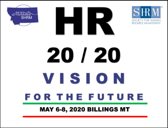 Montana SHRM State Conference 2020 - Sponsor & Vendor Registration