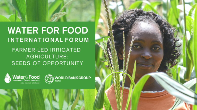 water for food international forum header