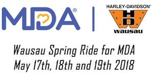 Wausau Spring Ride for MDA