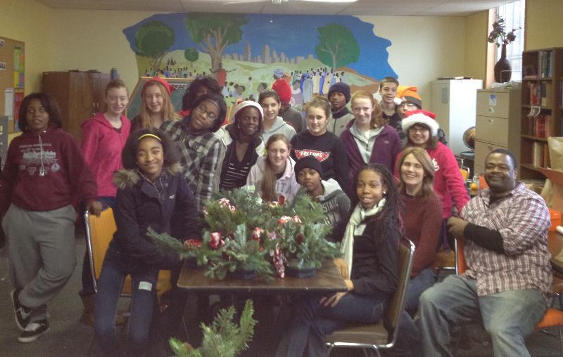 Thea Bowman Christmas Party Team