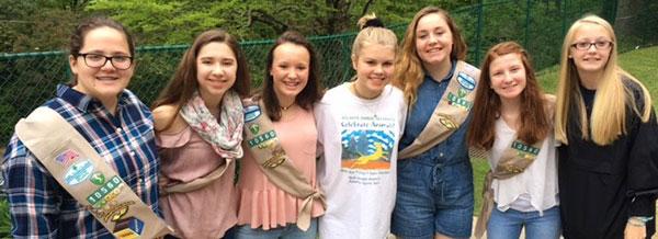 Lola Frankowski Girl Scout Troop