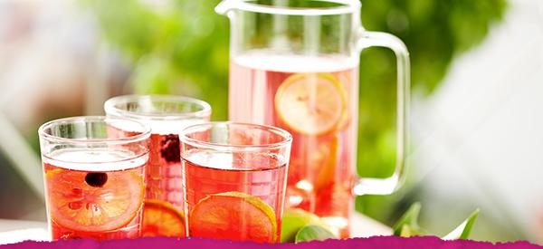Agave Berry Lemonade Cooler