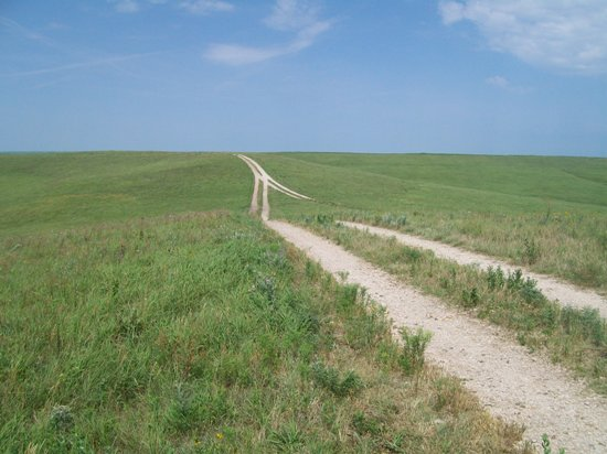 road in the prairie