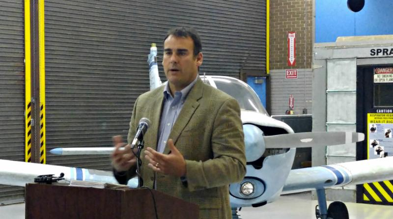FloridaWest CEO Scott Luth Speaks at George Stone Technical Center