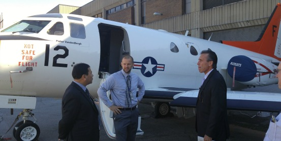 George Stone Technical Center will train students for high-wage, high-demand aircraft airframe mechanic jobs