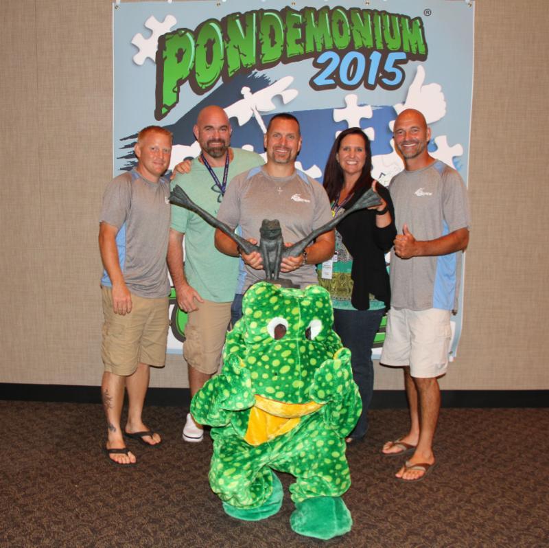 Jim's Pond: Pondtastic Is Named 2015 Top Frog