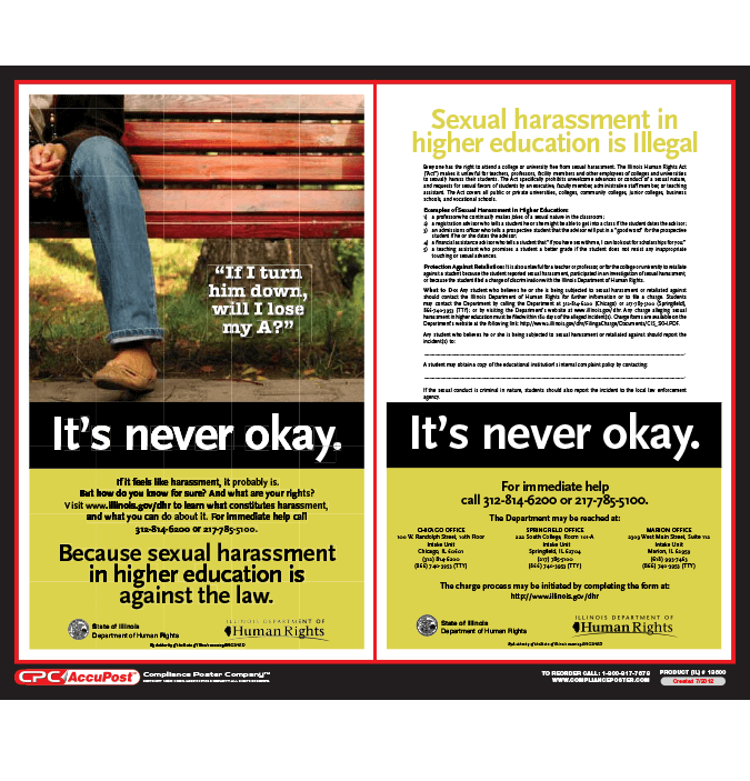 Mandatory Poster Updates: Chicago, Cook County, & IL Higher Ed