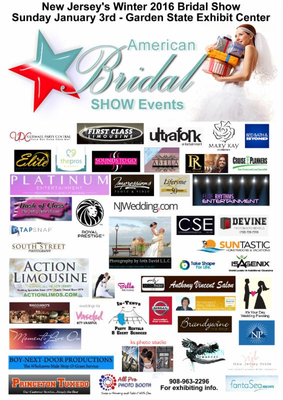 New Jersey 39 S Bridal Show At The Garden State Exhibit Center