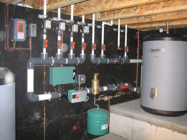 Radiant Heat Review Tips For Log Home Installations