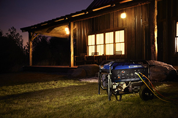 power outages - portable generator